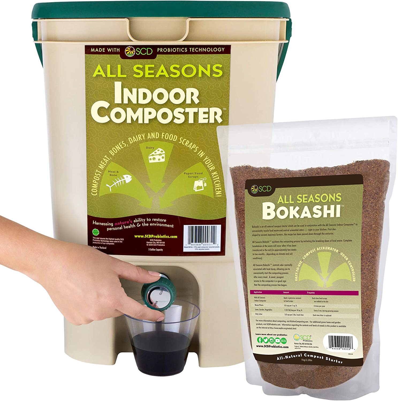 Amazon.com: SCD Probiotics K100Compostera de ...