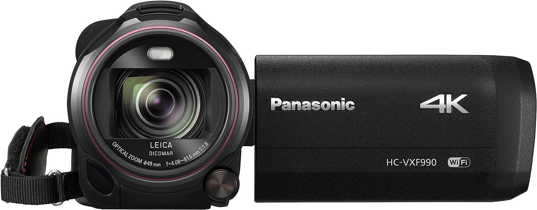 Panasonic HC-VXF990EGK - Videocámara (MOS BSI, 25.4/2.3 mm (1/2.3