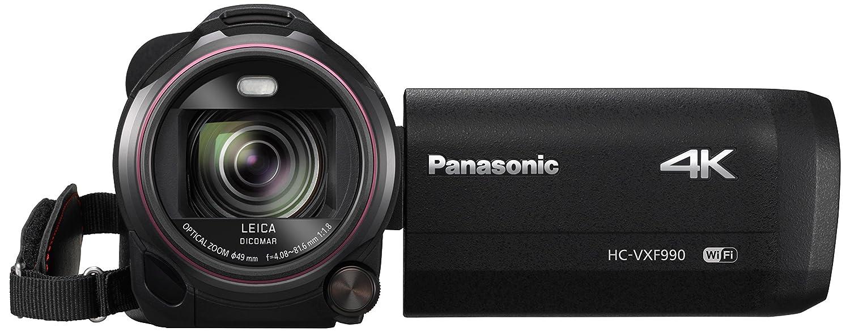 Panasonic HC-VXF990EGK - Videocámara (MOS BSI, 25,4/2,3 mm (1/2.3