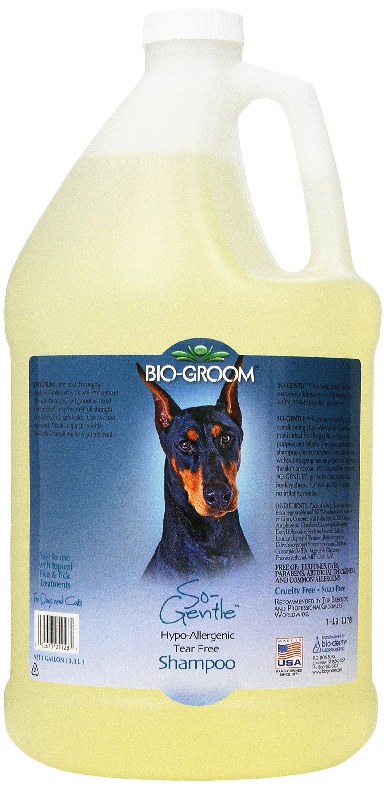 Bio-groom So-Gentle Hypo-Allergenic Pet Shampoo, 1-Gallon by Bio-groom