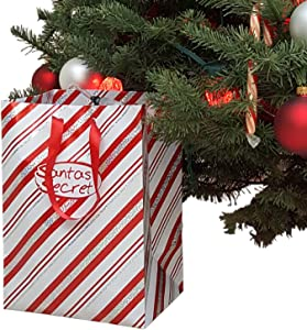 Santas Secret Gift - Automatic Christmas Tree Watering System (Candy Cane) World's TOP Selling Waterer Since 1998. | Made in USA
