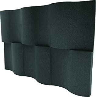"""product image for Foamily 6 Pack - Decorative Acoustic Panels Studio Foam Waves 2"""" X 12"""" X 12"""""""
