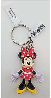 Amazon.com: Disney Parks Keychain - Mickey Mouse Rubber ...