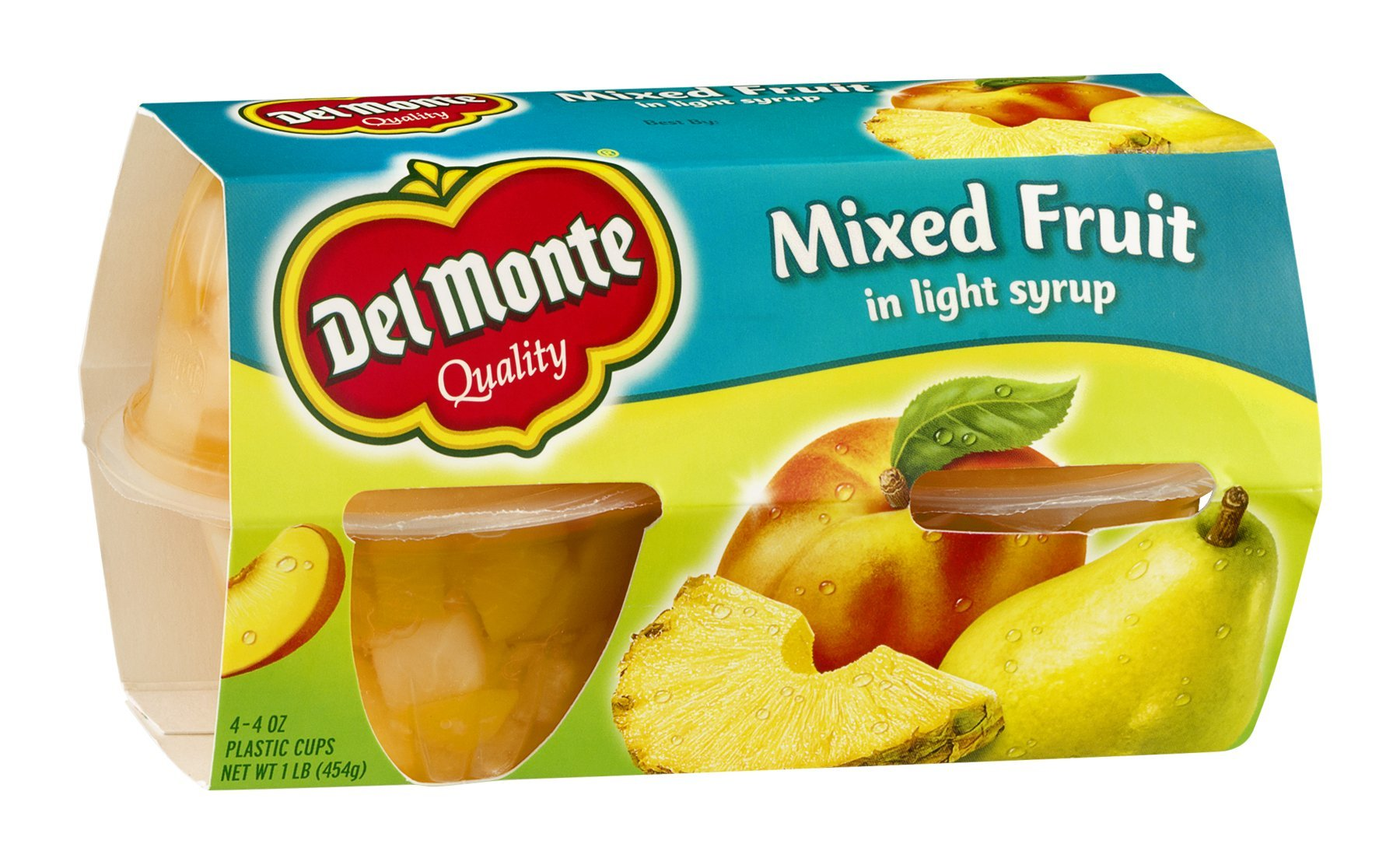 Del Monte Mixed Fruit in Light Syrup 16OZ (Pack of 18)