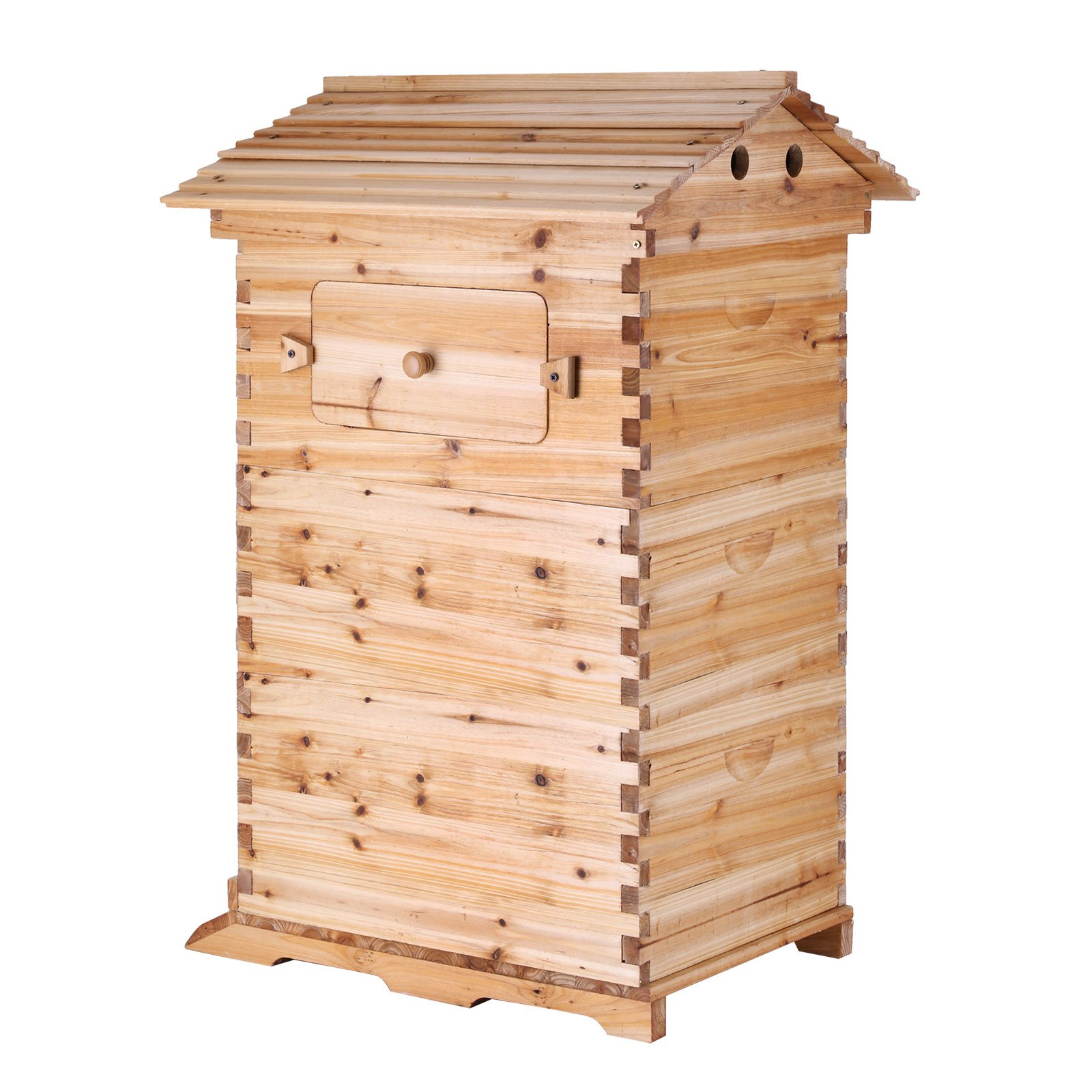 VEVOR Beehive Frames 20 x 16 x 21.5 inches Automatic Honey Bee Hive Wooden House