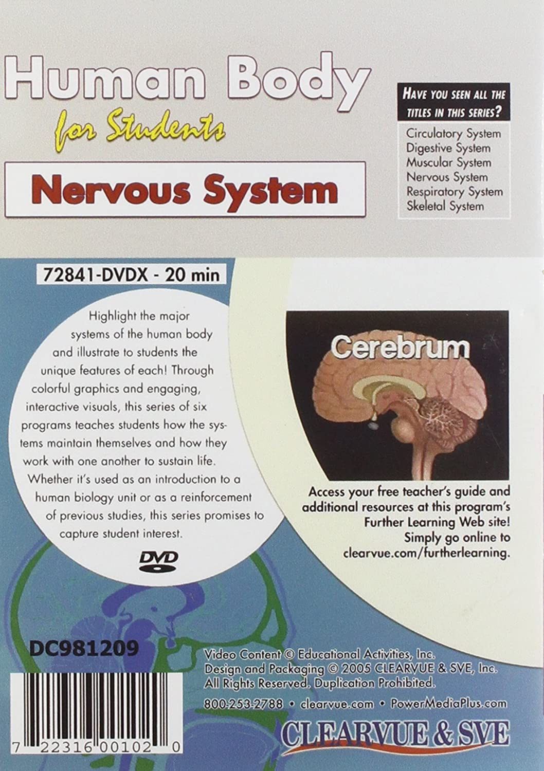 Amazon com: Human Body for Students: Nervous System: Movies & TV