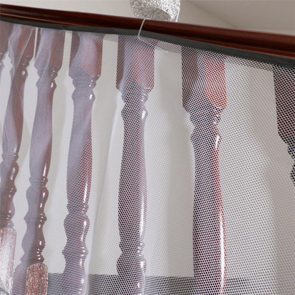 r/églable pour rampe d/'escalier balcons usage int/érieur et ext/érieur Amknn filet de s/écurit/é pour enfants r/ésistant imperm/éable