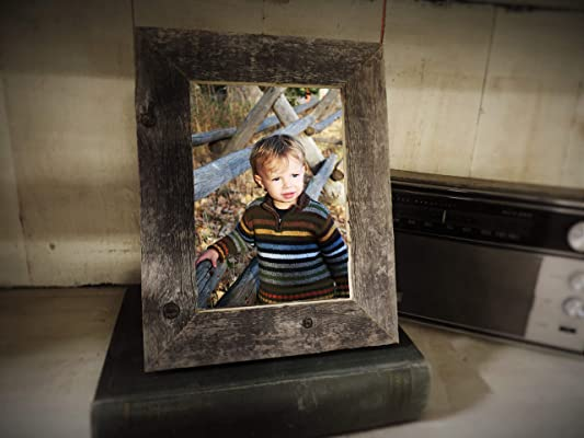 4x6 Rustic Barn Wood Frame 1.5
