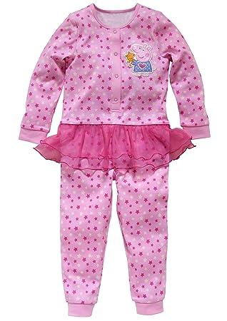 Peppa Pig Pink Tutu Dress Onesie All-in-one Pyjamas - Licensed Peppa merchandise