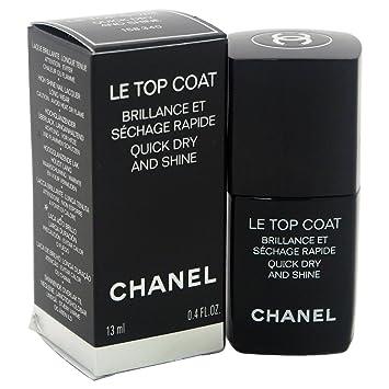 71703edb Amazon.com: Chanel Le Top Coat Quick Dry and Shine Nail Polish for ...