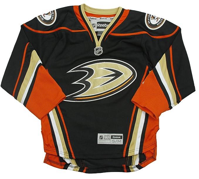 pretty nice b6e46 2bcd8 Anaheim Ducks NHL Big Boys Alternate Premier Jersey, Black