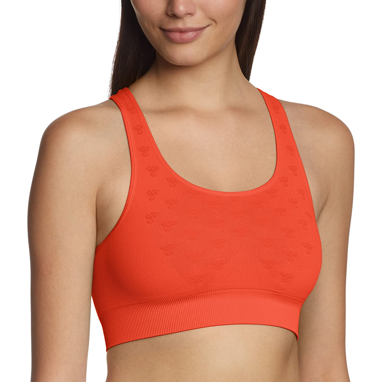 Hummel Damen Sport Top Angelina Sports Ss15 Tiger Lily XS 09-369-4066