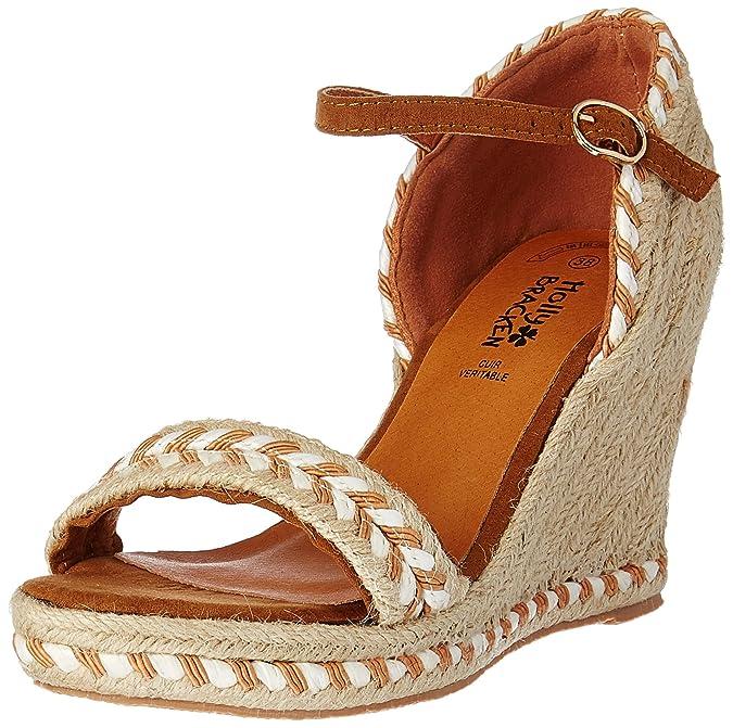 Molly Bracken Z102P17 Sandali con Cinturino alla Caviglia Donna Nero