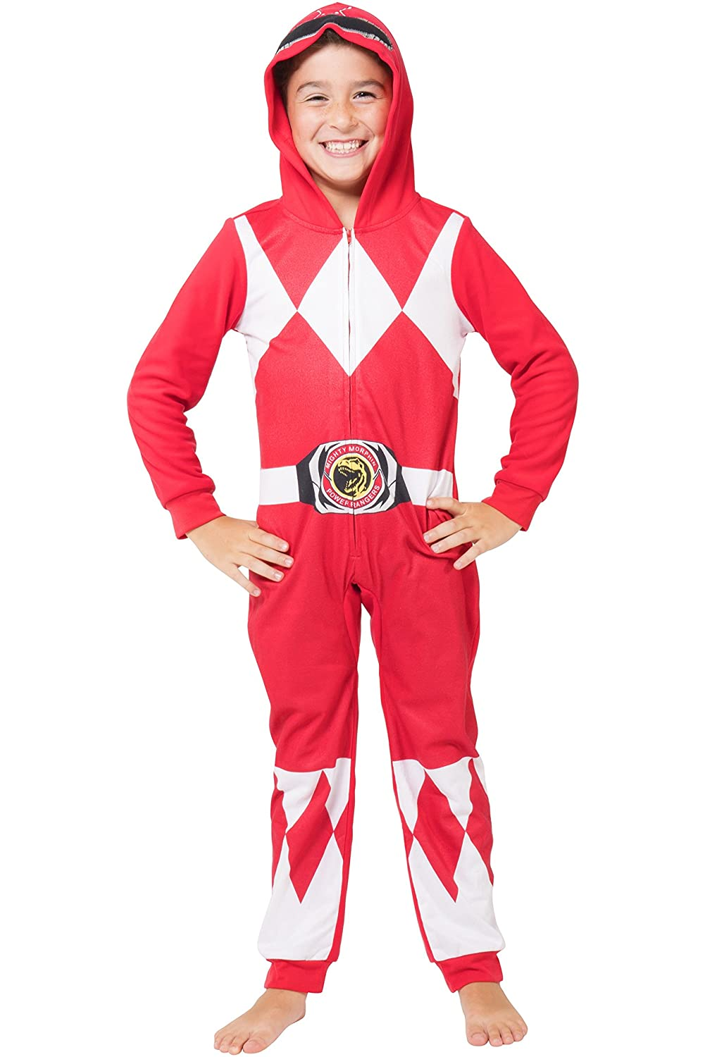 Intimo boys Power Rangers Red Critter Pajama PR0104CPJ