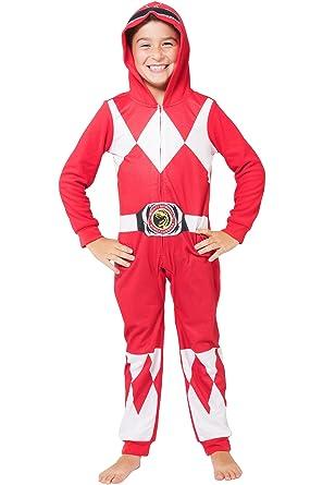 a3c918912561 Amazon.com  INTIMO Boys  Red Ranger Critter Pajama  Clothing
