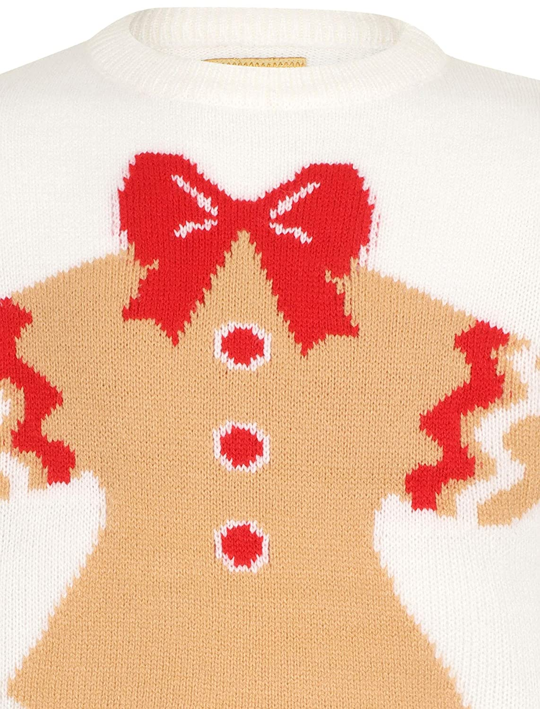 Tokyo Laundry Girls Merry Christmas Crew Neck Novelty Xmas Jumper