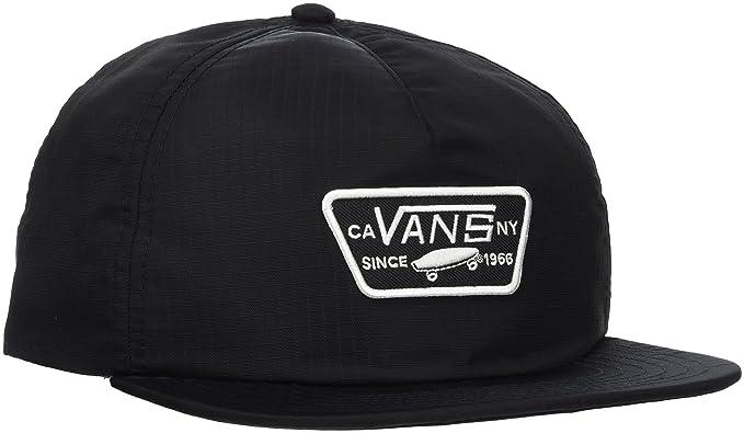 Vans_Apparel Rebel Riders Hat, Gorra de béisbol para Mujer, Negro (Black) Talla