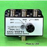 3 Position COAX Antenna SWITCH 1000 W - CB / Ham Radio - Workman CX3