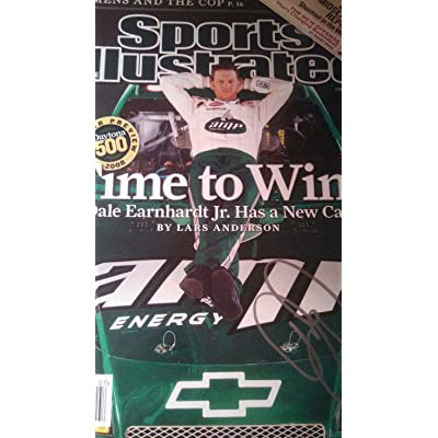 Dale Earnhardt Jr autographed Sports Illustrated no label Signed Signed -  JSA Certified - Autographed NASCAR 4bb5417f4