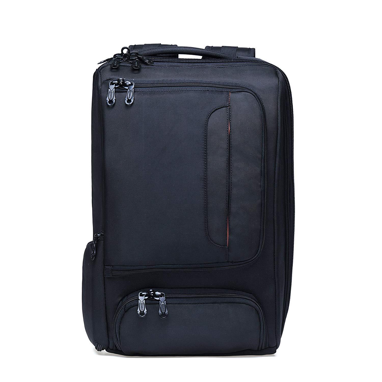 KAUKKO Laptop Outdoor Backpack, Travel Hiking& Camping Rucksack Pack, Casual Large College School Daypack, Shoulder Book Bags Back Fits 15'' Laptop & Tablets (4Black)