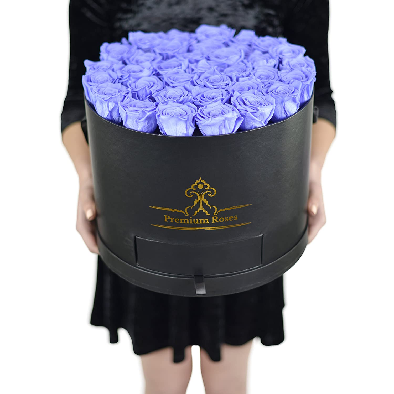 Premium Roses| The Roses can Last 1year (Roses in the Box, Best Gift for Her, Anniversaries, Birthdays & Valentines Day Mahd Enterprise