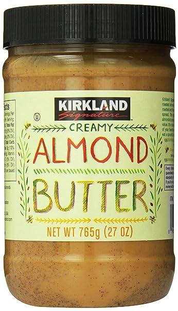 Kirkland Signature Creamy Almond Butter, 27 Ounce