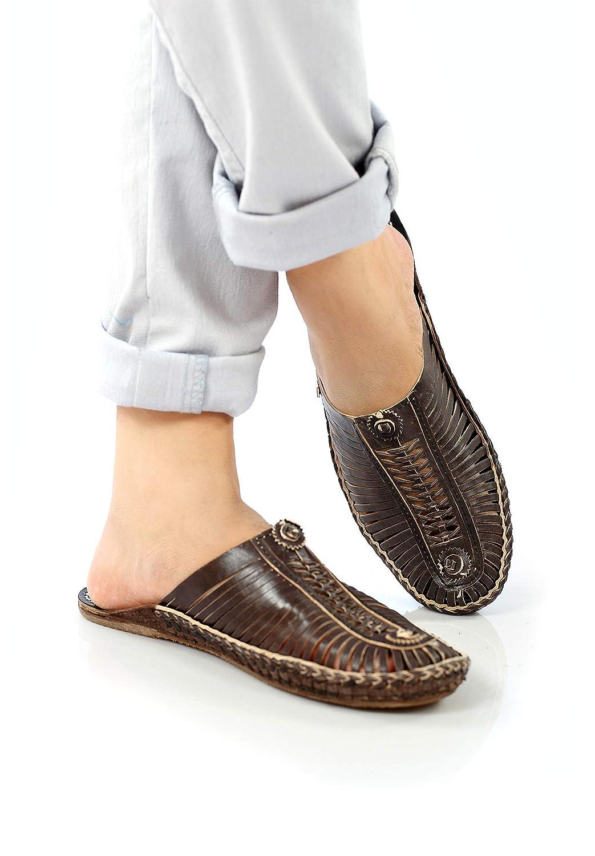 32fce3a5c0538 Amazon.com: Handmade kolhapuri leather mules,Men's leather shoe ...