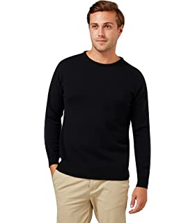 1c3e171ac Great   British Knitwear Men s HM105 100% Lambswool Plain Crew Neck ...