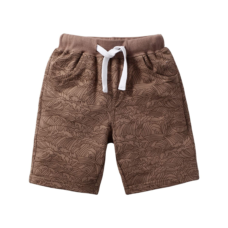 Toddler Boy Summer Clothes Cotton Boys Outfits Short Sleeve T-Shirt Short Pants Size 2-7T