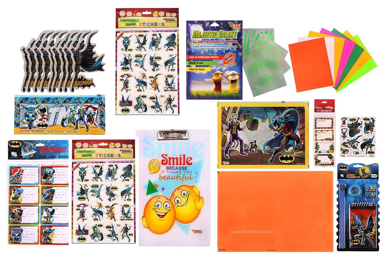 Sticker Bazaar Batman Stationery (Gifts) Set Combo - 799