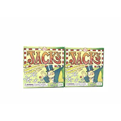 SET OF 2 Jacks Metal from House Of Marbles: Toys & Games [5Bkhe0706188]