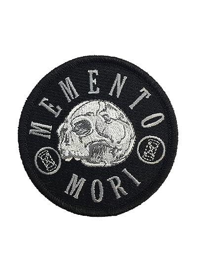 Memento Mori - Remember Death - Embroidered Morale Patch