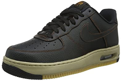 reputable site 92a15 c85a6 Nike Men s Nike Air Force 1 Elite Leather Low-Top Sneakers, Black   Marrón