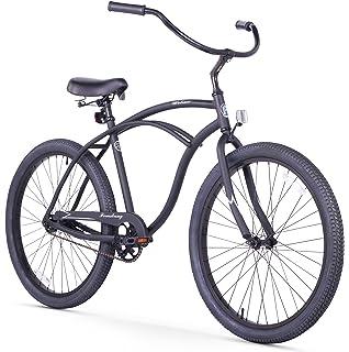 35bb45140bc Amazon.com : Firmstrong Urban Man Single Speed Beach Cruiser Bicycle ...