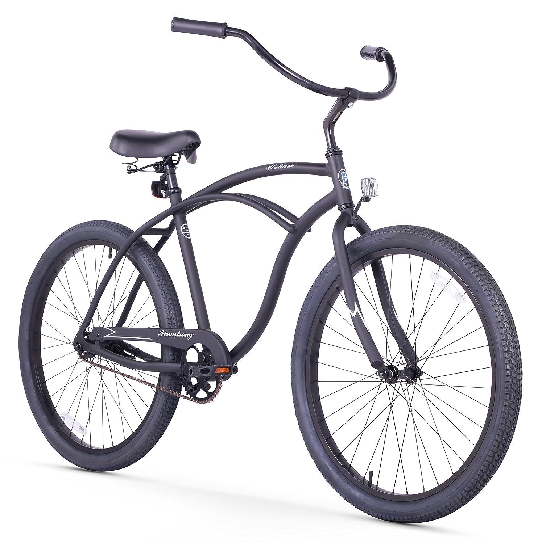 26-Inch Firmstrong Urban Man Alloy Single Speed Beach Cruiser Bicycle
