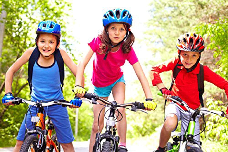 Colorful Lively Kids Bike Gloves for Boys Girls Age 4 5 6 7 8 9 10 11 12 Optional Half Finger Mountain Bike Gloves Fabric