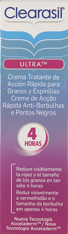 RECKITT BENCKISER - CLEARASIL ULTRA CR TTO 15 ML: Amazon.es: Amazon Pantry