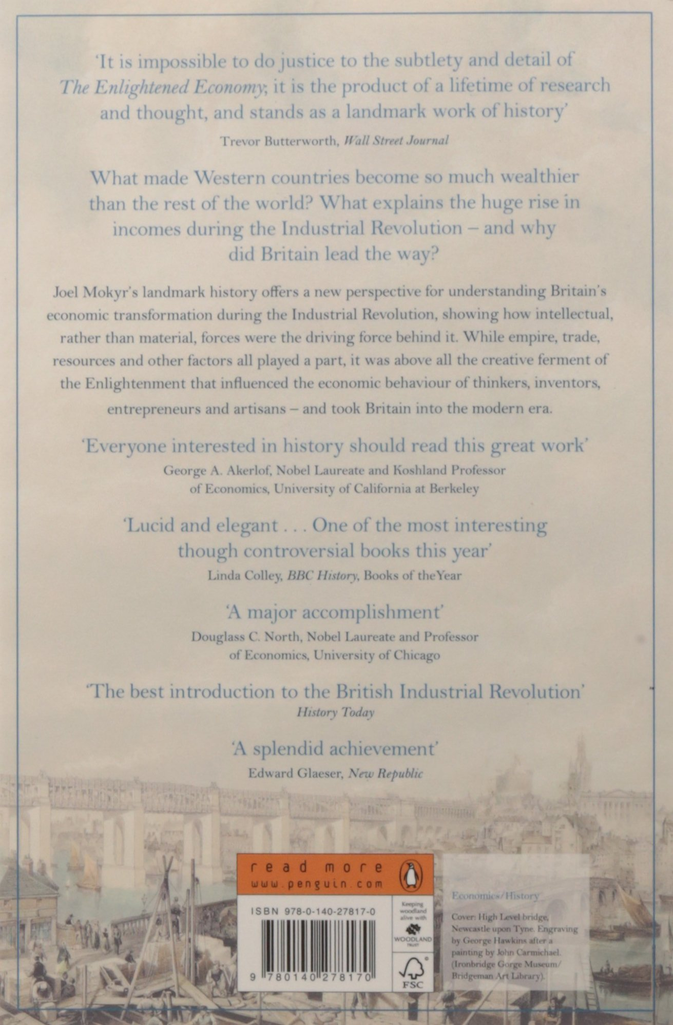 com the enlightened economy britain and the industrial  com the enlightened economy britain and the industrial revolution 1700 1850 9780140278170 joel mokyr books