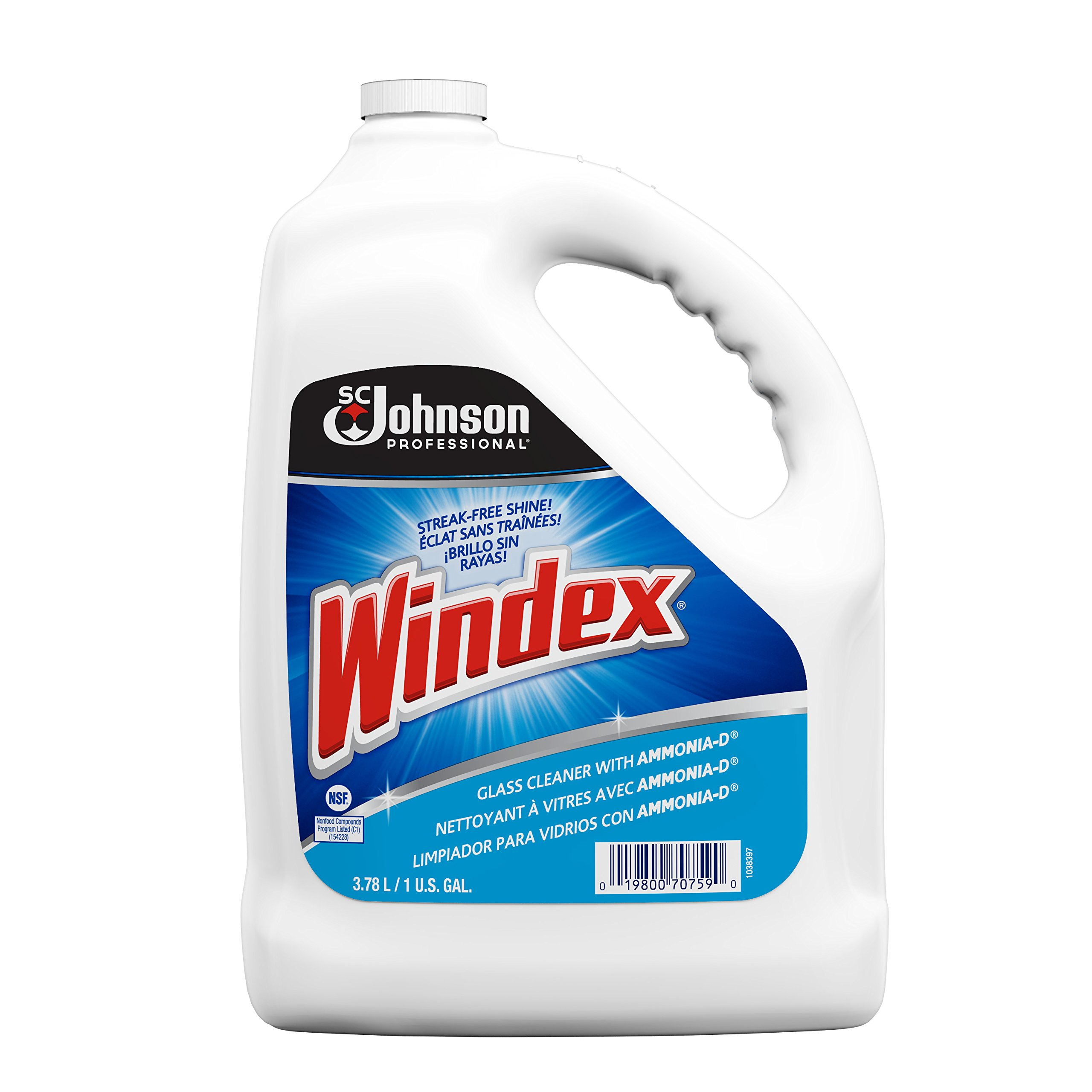 Windex Glass Cleaner 5 Gallon