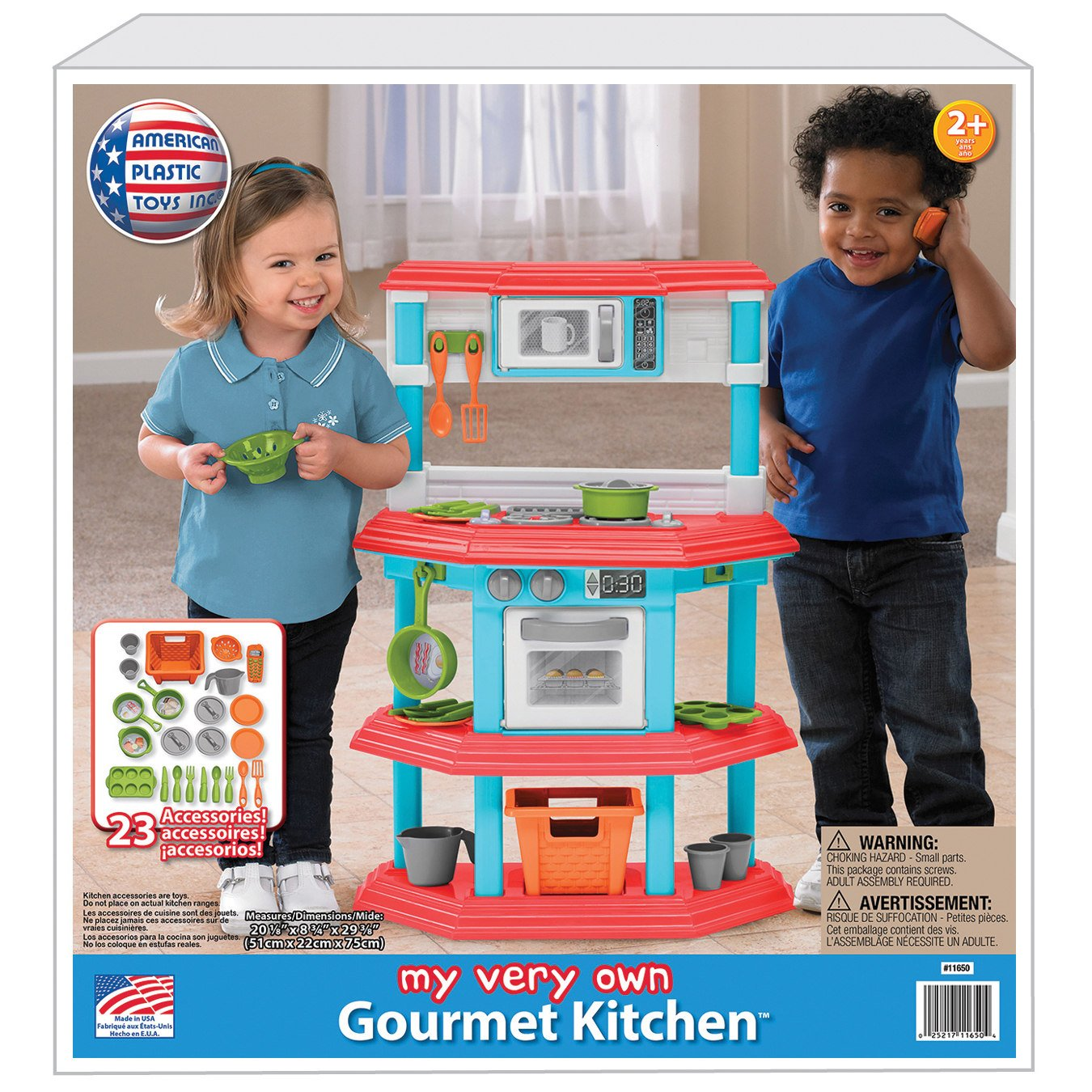 amazon com  my very own gourmet kitchen pretend playset toys with 23 play kids accessories super fun culinary based play set great gift idea  toys  u0026 games amazon com  my very own gourmet kitchen pretend playset toys with      rh   amazon com