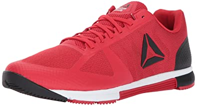 1e65dc9f2c2c4 Reebok Men s Crossfit Speed TR 2.0 Cross-Trainer Shoe Primal red White Black