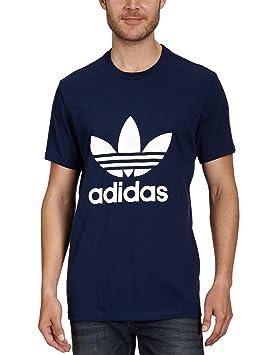 aa6e92c08347 adidas Men's Trefoil T-Shirt: adidas Originals: Amazon.co.uk: Sports ...