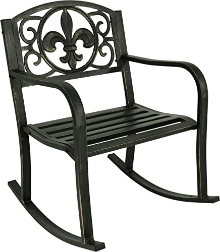 Sunnydaze Outdoor Rocking Chair