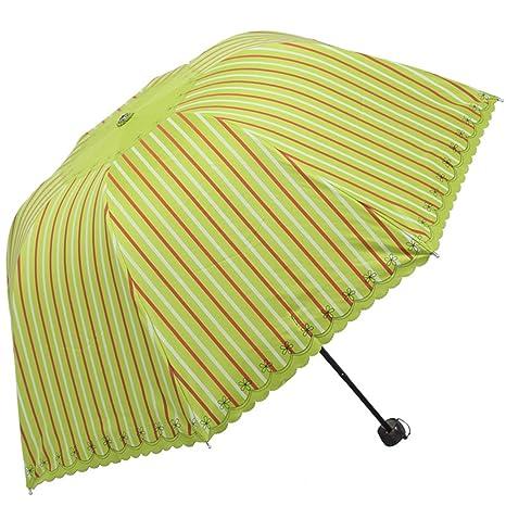 8350cb178ad2 Amazon.com : Reinhar Folding Rain Umbrella Women Stockschirm Black ...