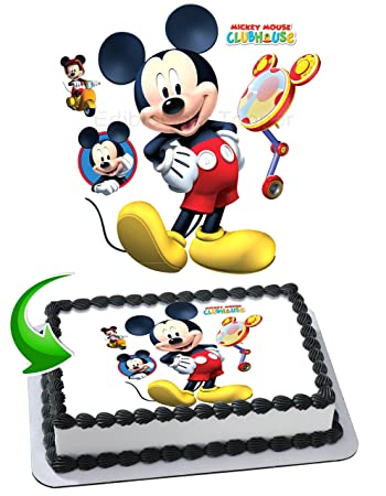 Mickey Mouse Edible Image Cake Topper Icing Sugar Paper A4 Sheet
