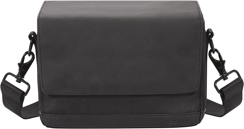 Canon SB100 Bolso bandolero con compartimientos para cámara, Color Negro