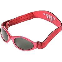 Adventure BanZ Baby Sunglasses, Rockin' Red, Infants 0 2 Years