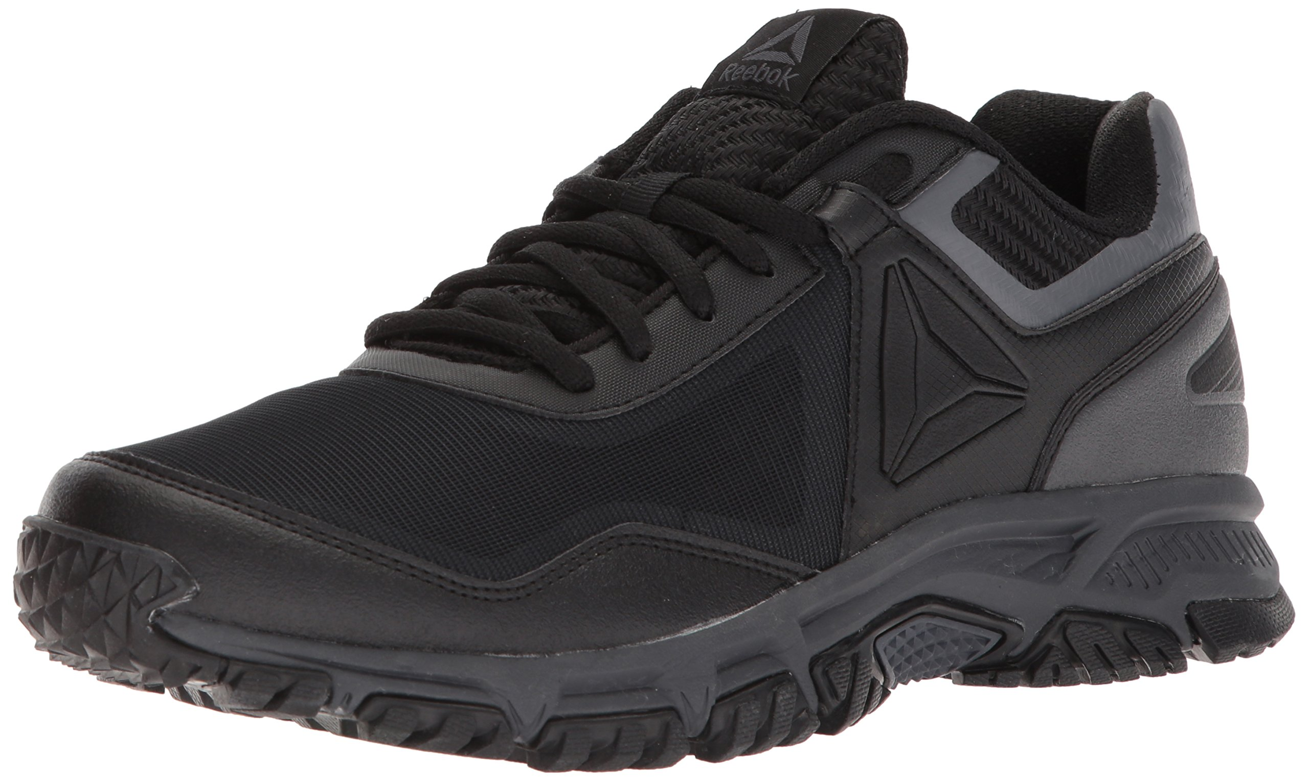 Reebok Men's Ridgerider Trail 3.0 Cross Trainer, Black/Ash Grey, 9 M US by Reebok