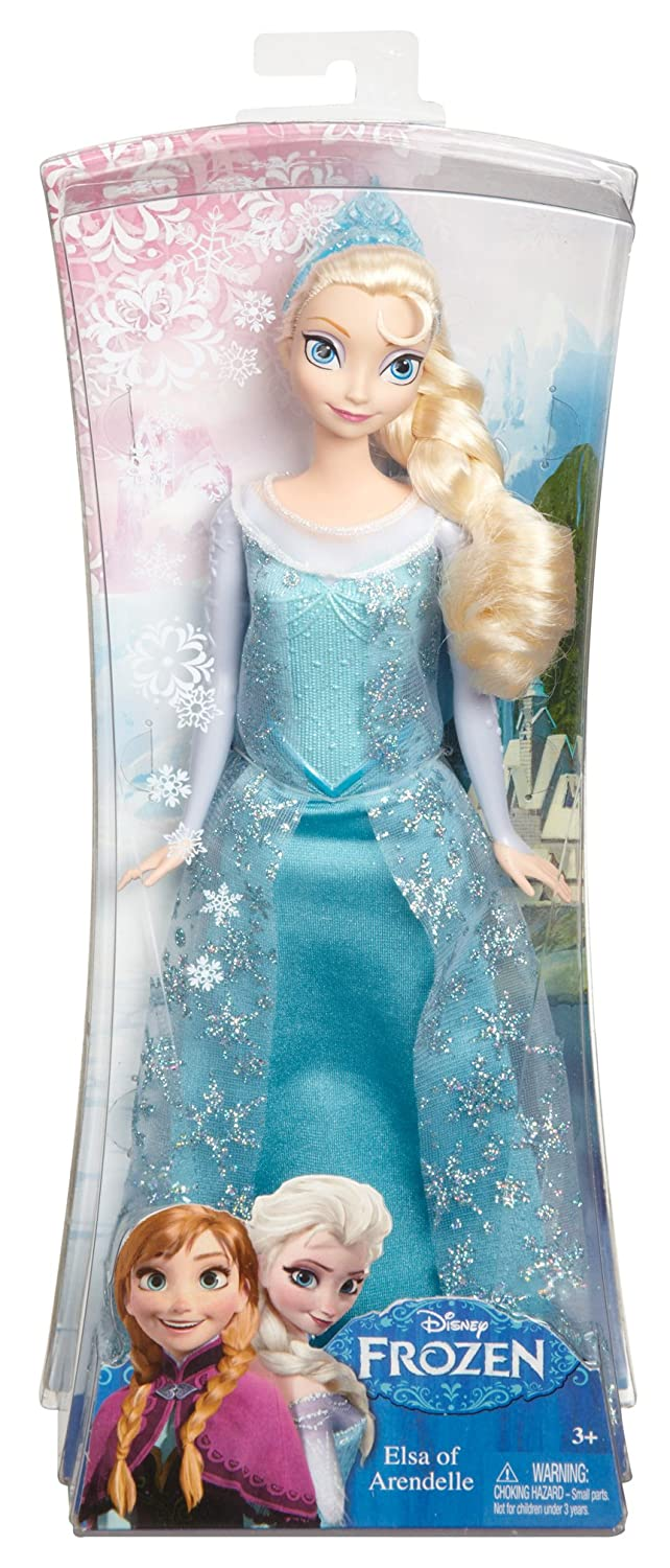 Amazon Mattel Disney Frozen Sparkle Princess Elsa Doll Toys