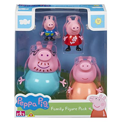 Peppa Pig 06666 Family Figures Pack: Toys & Games